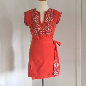Free People apron dress